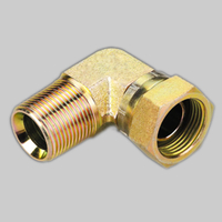 2TB9 90°BSPT MALE/BSP FEMALE 60°CONE adapters and tube fittings