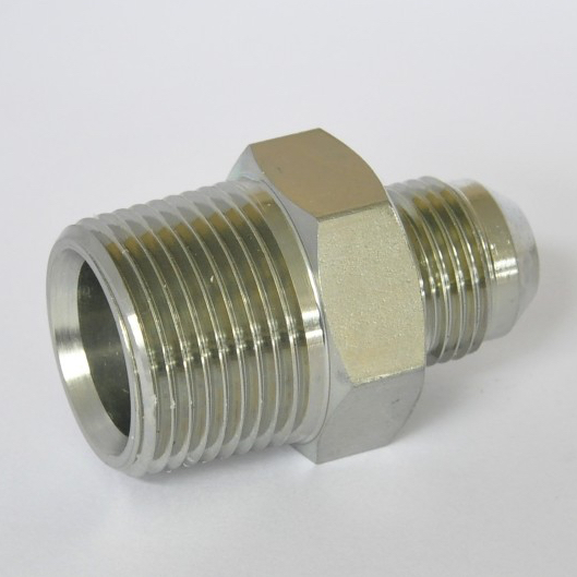 Male connector flare tube end pipe sae