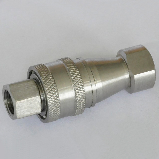 ISO7241-B KZF CLOSE TYPE快卸鎖聯結(Stainless Steel)