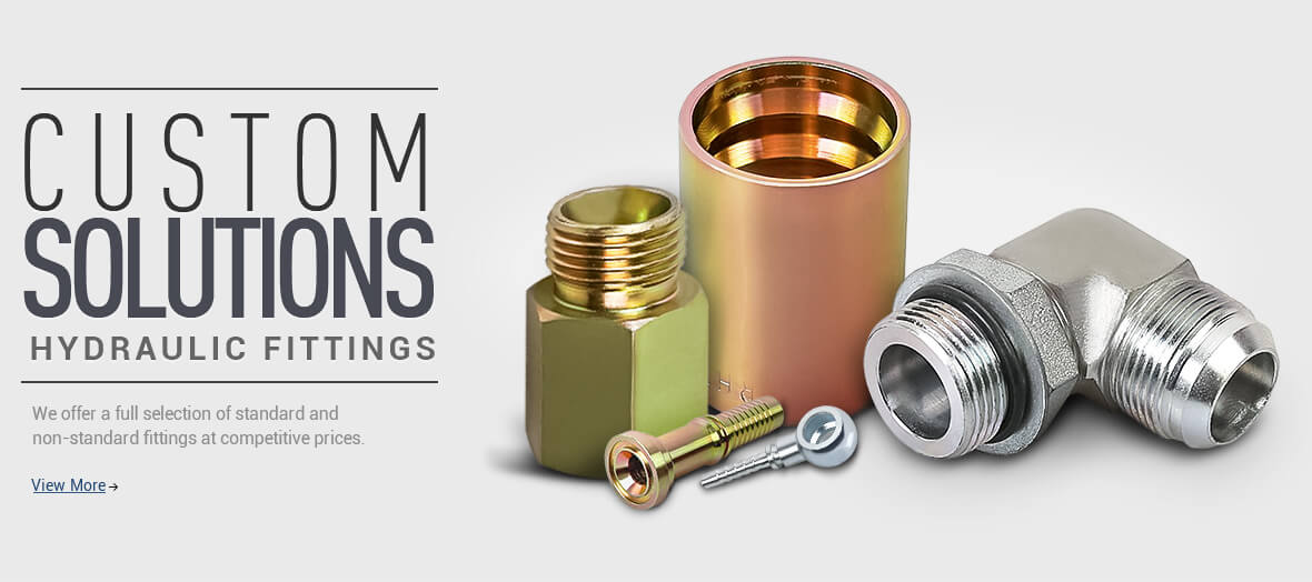 Custom solutions - Hydraulic fittings