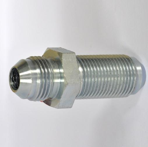 Bulkhead union flare tube end sae