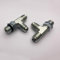 AJJO JIC MALE 74 CONE / SAE O-RING RUN TY HYDRULIC STEEL PINGE FITTINGS