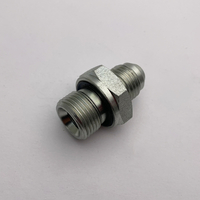 1JB-WD JIC MALE 74°CONE/BSP MALE CAPTIVE SEAL CARBON STEEL HOSE FITTINGS